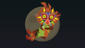 Skull Kid Majora's Mask by WalidSodki
