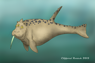 Canadian Lake Monsters- Hapyxelor by Clawedfrog