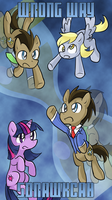 Doctor Whooves Adventures -Wrong Way Backwards- by BluesKirby
