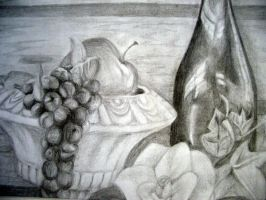still life with grapes by pulp-vixen