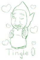 Tingle Sketch by Krustalos