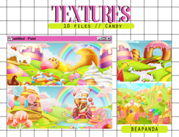 Textures 044 // (Candyland) by BEAPANDA