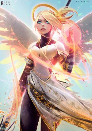 MERCY : YouTube! by rossdraws