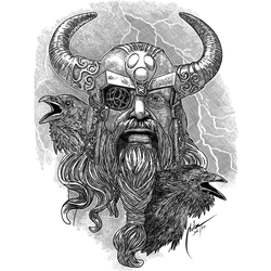 Odin  by mnetto