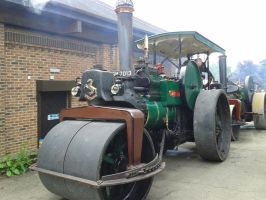 Janet the steam roller by WhippetWild