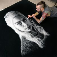 Daenerys Salt portrait by AtomiccircuS
