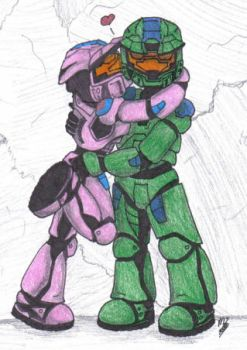 HALO Lovers by mica87