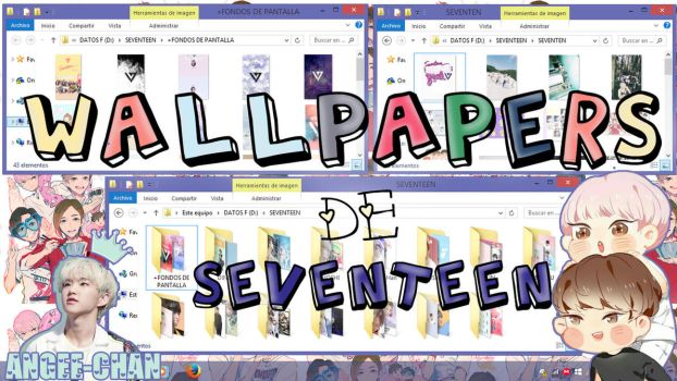 WALLPAPERS DE SEVENTEEN+FONDOS DE PANTALLA by ANGEE-CHANN
