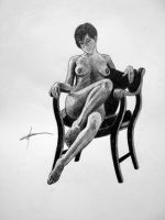 Pencil Nude No. 6 by markroutt