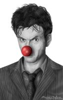 David Tennant - Red Nose Day by staroksi