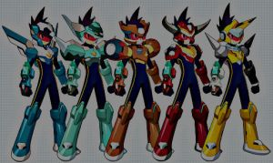 the 5 new starforce forms by luuffy100