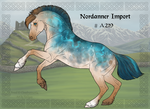 Nordanner Group Horse Import A219 by Cloudrunner64