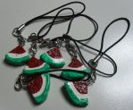 Watermelon Charms by utenafangirl