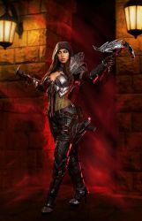 Diablo 3 Demon Hunter Cosplay - Vengeance by ApotheosisCosplay