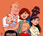 The Incredibles by Yuett