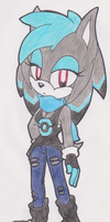Chrissy The Hedgehog :Adopt: by SassyMelvin