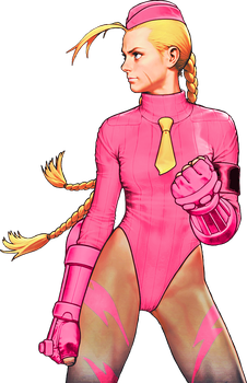 Street Fighter Killer Bee Cammy color 5 by WhiteAngel50000