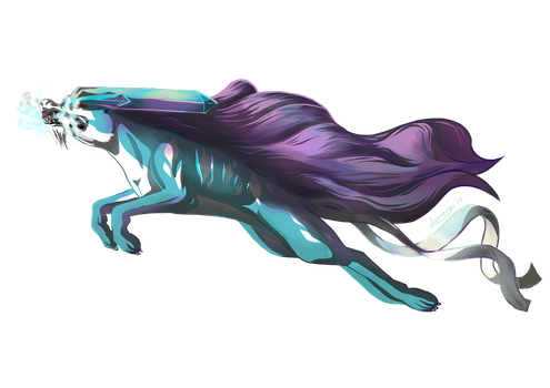 Suicune used ice fang! by DragonchildX