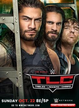 WWE TLC 2017 Official Poster by SidCena555