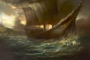 Late afternoon boat trip by Manzanedo