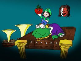 Game Grumps in Super Mario Bros. 2 by Fredcheeseburger