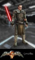 Soul Calibur IV: Starkiller by xCrofty