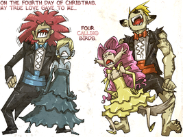 On the Fourth day of X-mas... by karniz
