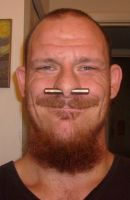 Me with my septum spike by AbstractPagan