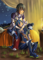FE 13: In Her Arms by EnigmaAerion