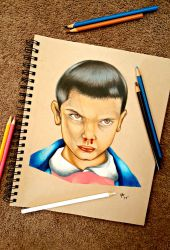 Eleven (Stranger Things) by minidynz