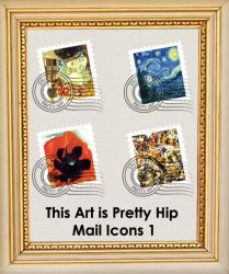 This Art is Pretty Hip Icons 1 by fruit4dinner