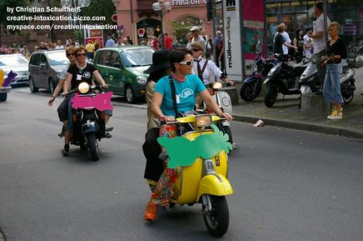 dykes on bikes by creativeIntoxication