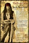Jack Sparrow's Pirate Code by valaryc