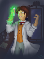 Dr. Jekyll is a mad scientist by TurquoiseThought