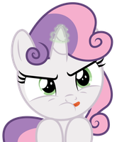 Sweetie Belle Can Do Magic Things by masemj