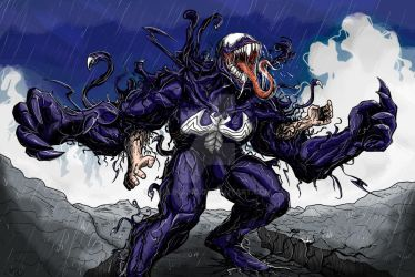Venom Print by darlinginc