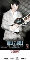 WWE HELL IN A CELL 2013 POSTER CUSTOM by sebaz316