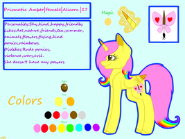 Prismatic Amber (Ex-main OC)-Reference sheet 2.0 by AminaIslam