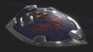 Legend of Zelda Hylian shield by The-Great-Pipmax