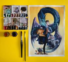Newt Scamander 2 by brunoces