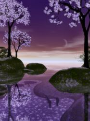 Purple Romance-Scene Stock by shd-stock