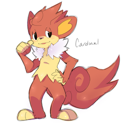 Cardinal evolved! by 9aia