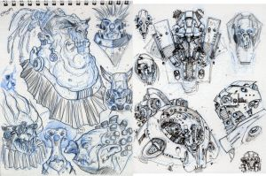 Sketches from NY 3 by Axel13-Gallery