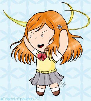 Chibi Inoue Orihime by MarryMelody