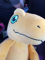 Agumon Plush! by 6SeaCat9