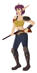 Post Apocalyptic Aeryn Final by DrinkTeaOrDie