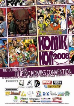 KOMIKON 08 Official Poster by komikon