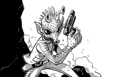 Greedo by DerekLaufman