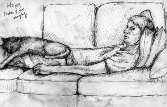 Lounging by troque