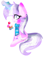 .: Art Trade :. I Did Not Eat The Cupcake by Mlp-Magical-Melody